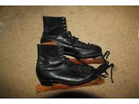 Vintage Simlam Three Hundred leather men's figure ice skates