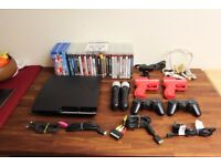 PS3 (320Gb) with 25 games and accessories