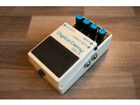 BOSS DD3 / DD-3 DIGITAL DELAY guitar effects pedal - Excellent condition , little use.