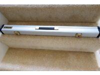 Riley Snooker Cue Case - Aluminium Metal Hard Case