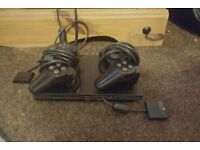 Slimline Playstation 2 and 2 controllers