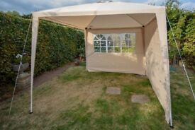 Cream Gazebo (never been used)