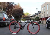 Christmas Sale GOKU Cycles Steel Frame Single speed road bike TRACK bike fixed gear bike 188