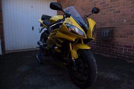 Yamaha R6 2008 13s Cadmium Yellow