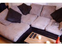 Nice brown sofa