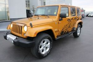 2014 Jeep Wrangler Unlimited Sahara 6-SPEED MANUAL