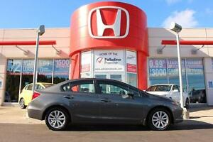 2012 Honda Civic Sedan EX- MANUAL+ SUNROOF+ BLUETOOTH & MORE!