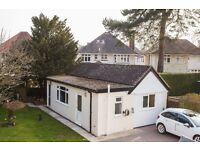 2 bed ANNEX , 8 min wooded walk to the beach. Set in a leafy upmarket area, with beautiful walks
