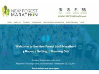 One New Forest Half Marathon 2016 place