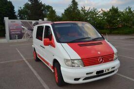 Mercedes vito 112, Custom,Camper ,Surfvan with Mazda Bongo seats.PX swap
