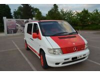 Mercedes vito 112, Custom,Camper ,Surfvan with Mazda Bongo seats.PX swap