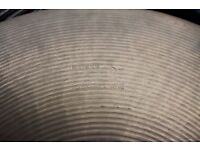 "Paiste Formula 602 16"" Thin Crash cymbal - Swiss - '70s"