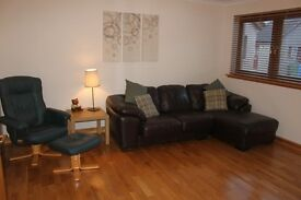 Fully furnished 2 bed flat for rent in Tain