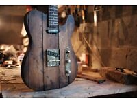 Bourbon Barrel Guitar - Hand Built Telecaster