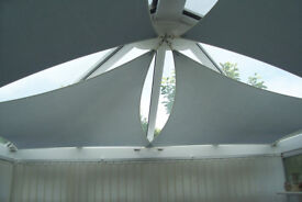 4 x Conservatory Sails and all fixings.