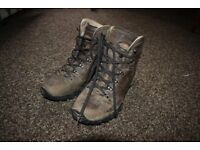 Meindl hiking boots, size six and a half, barely used