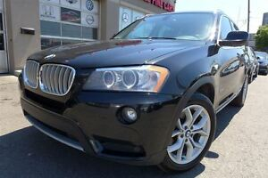2013 BMW X3 xDrive28i, Navigation, Pano Roof, Clean