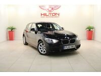BMW 1 Series 2.0 116d ES Sports Hatch 5dr (black) 2012