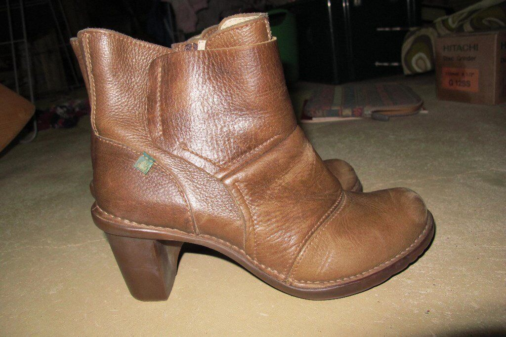 El Naturalista Ladies Heeled Ankle Bootsin Camberwell, LondonGumtree - Natural style El Naturalista heeled ankle boots. In great condition. Size 39/6. Postage possible x
