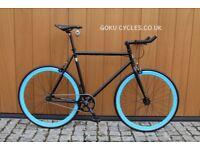 JanuarySale GOKUCYCLES Steel Frame Single speed road track bike fixed gear racing fixie bicycle
