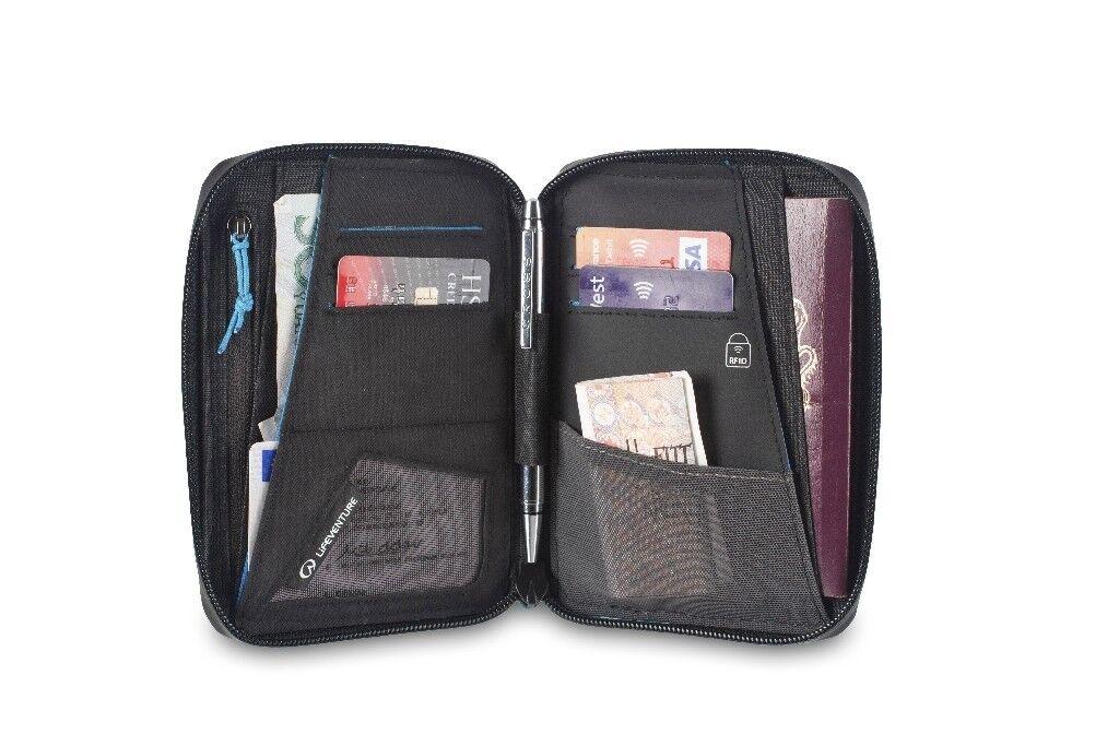 LIFEVENTURE ASTUCCIO RFID MINI DOCUMENTO SACCHETTO Passport Passaporto schutzta