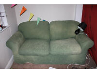 3 seater sofa that turns into double bed! For FREE! Pickup asap!