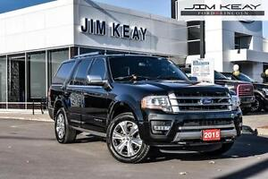 2015 Ford Expedition Platinum AWD 8 PASSENGER W/ DVD HEADREST, P
