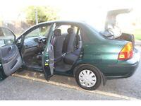 2003 LIANA (same Toyota )- 4 doors 1.6 PETROL -Low Mileage 40000