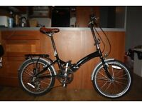 Fold Up Bike for sale, great little bicycle for commuting - Kingston Freedom