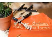 Demi Chef de Partie - Chickens & Foxes - Baker Street