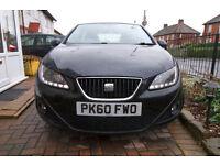 2010 Seat Ibiza CR S A/C, 1.2 TDI Diesel. Fuel economy up to 83 MPG (3.4L/100km). Road Tax £20