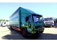 2002 VOLVO FL220 4X2 CURTAIN SIDER WITH TAIL LIFT SPRING STEEL SUSPENSION PARTS DAF TIPEPR
