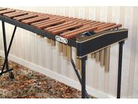 Concorde 4 Octave Orchestral Xylophone with Padouk bars, foldable frame and cover