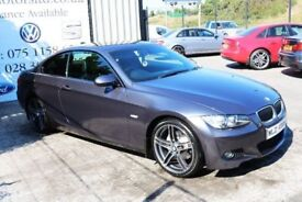 LATE 2007 BMW 3 SERIES 320D M SPORT AUTO 175 BHP COUPE (FINANCE & WARRANTY)