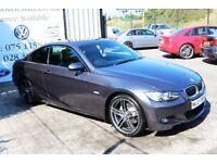 LATE 2007 BMW 3 SERIES 320D M SPORT AUTO 175 BHP COUPE (FINANCE & WARRANTY)