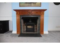 Fire Surround, Slips, Hearth Slab and Deflector