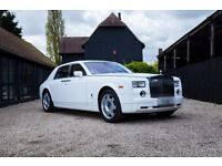 Rolls Royce Phantom £295/Rolls Royce Ghost £295/Bentley Flying Spur £195/Wedding Car Hire London