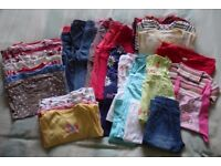 Bundle of clothes for a girl 1.5 - 2 years old