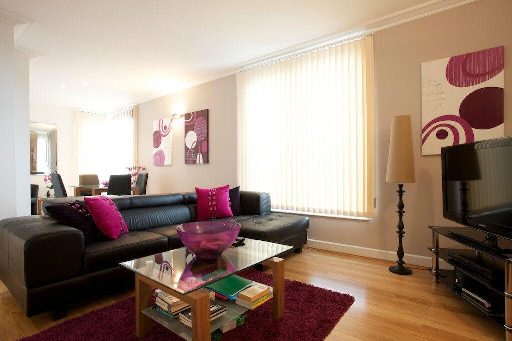 **SHORT LET Modern 2 Bedroom in Kensington, fully furnished, all bills inc, free wifi - Book now!