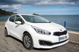 KIA Ceed (2015 - ) MK 3 Facelift 1.6 CRDi 3 Hatchback 5dr (ISG) £0 Road Tax | 5 Years Warranty