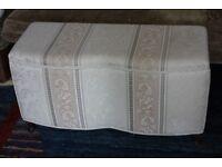 Upholstered Blanket Box Ottoman