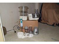 small appliances/steam cuisine,food processor/smoothie maker/stick blender