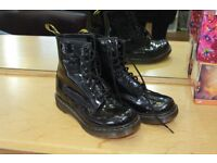 Barely worn patent Doc Martins size 5