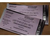 Leftfield DJ Set @ The Trinity Centre Friday 2nd Sept.