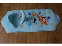 Mothercare Aqua Pod baby bath seat with mat - will post -