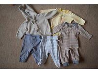 Baby Boys Clothes Bundle - 0-3 months (14 items)