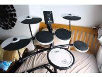Roland TD-1KV kit, sticks, throne and manual - Electronic Drumkit