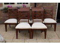 Solid Wood Six Chairs