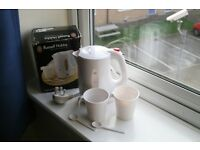 Russell Hobbs Travel jug Kettle: new condition/never been used.