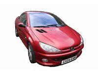 2004 Peugeot 206CC 1.6 litre